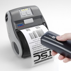 Der mobile Barcode-Duplikator vervielfältigt Barcode-Etiketten per Handscanner