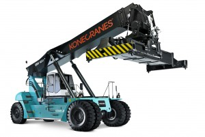 Foto1_CeMAT2014_Konecranes Lifttrucks_Reach Stacker