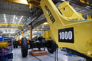 Der 1000. Reach Stacker in Produktion