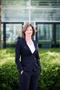 Frauke Heistermann, Mitglied der Geschäftsführung, erklärt die Cloud-basierte IT-Lösung