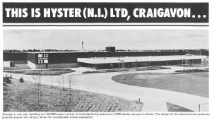 Hyster at Craigavon - 1981